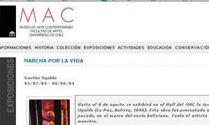 Museo de Arte Contemporáneo MAC - Santiago Chile