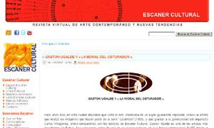 GASTON UGALDE Y << LA MORAL DEL OBTURADOR >> | Escáner Cultural