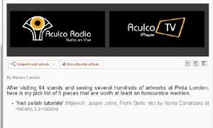 Aculco Media - PINTA 2011 picks