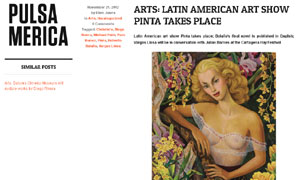 Arts: Latin American art show Pinta takes place | Pulsamerica