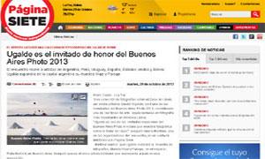 Ugalde es el invitado de honor del Buenos Aires Photo 2013 - Diario Pagina Siete