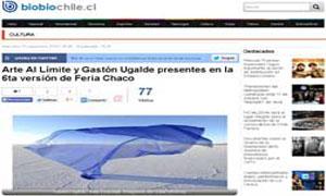 Gastón Ugalde - Ch.aco artista invitado Arte al Limite