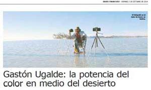 Gastón Ugalde - La potencia del color en medio del desierto