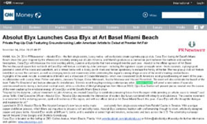Absolut Elyx Launches Casa Elyx at Art Basel Miami Beach