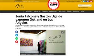 Gastón Ugalde - Outland Los Angeles @ Pagina Siete