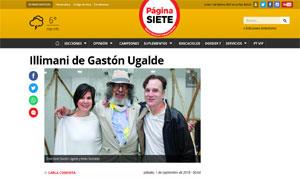 Illimani de Gastón Ugalde @ Pagina Siete