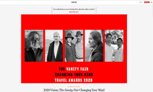Gastón Ugalde wins Vanity Fair's changing your mind in travel award