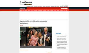 Gastón Ugalde Heterotopia performance celebration @  Los Tiempos