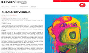 Gaston Ugalde @ Bolivian Express | Shamanic Visions